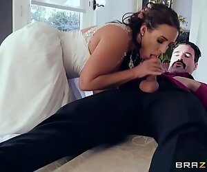 cuckold Bride Angela white luvs anal - Brazzers