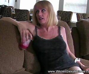 Dildo MILF Blowjob Mommy