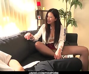 Risa Shimizu gets naughty with much younger man - More at javhd.net