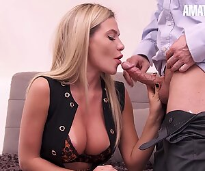 AmateurEuro - Hottest MILF Ever Throat Fucked On Cast