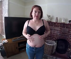 Mom undresses for son