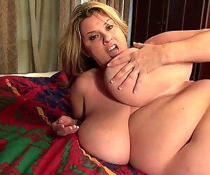 Châu mỹ bbw (em quá size) má mì Kimmie Kaboom cần một tình dục tốt
